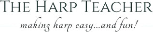 The Harp Teacher Logo